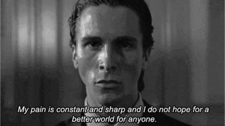 American Psycho Quotes Captivating American Psycho It's A Really Great Metaphor On Humanityhow No One