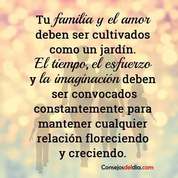 Frases Lindas Sobre La Familia Y Amor Mensajes Amor Frases Y