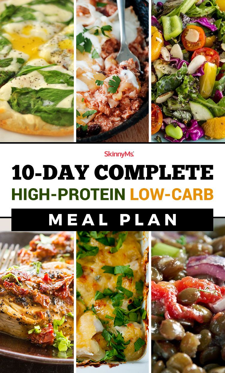 no carb high protein diet day by day