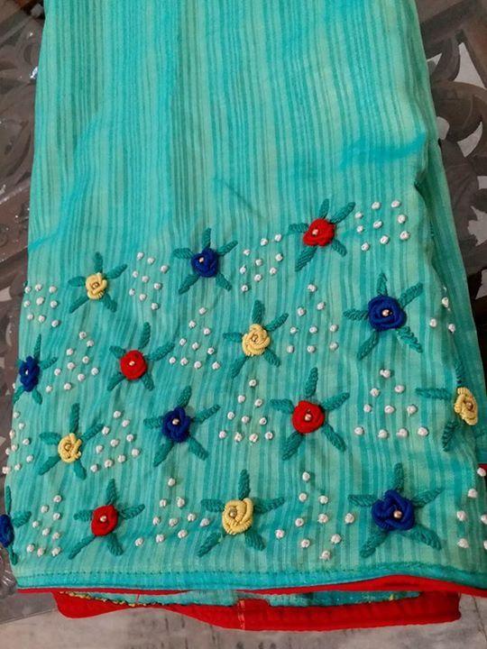 Pin de Revathi en Blouse designs   Pinterest   Vestido bordado ...