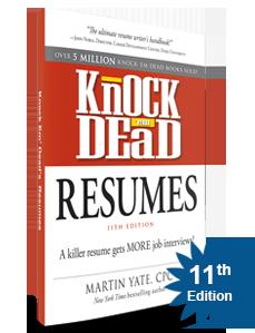 Knockemdead Resume Writing Services Professional Resume Writing Service Resume Writing