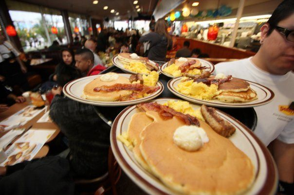 Great and fast service at Denny's available in 3 locations in #SeattleSouthside!