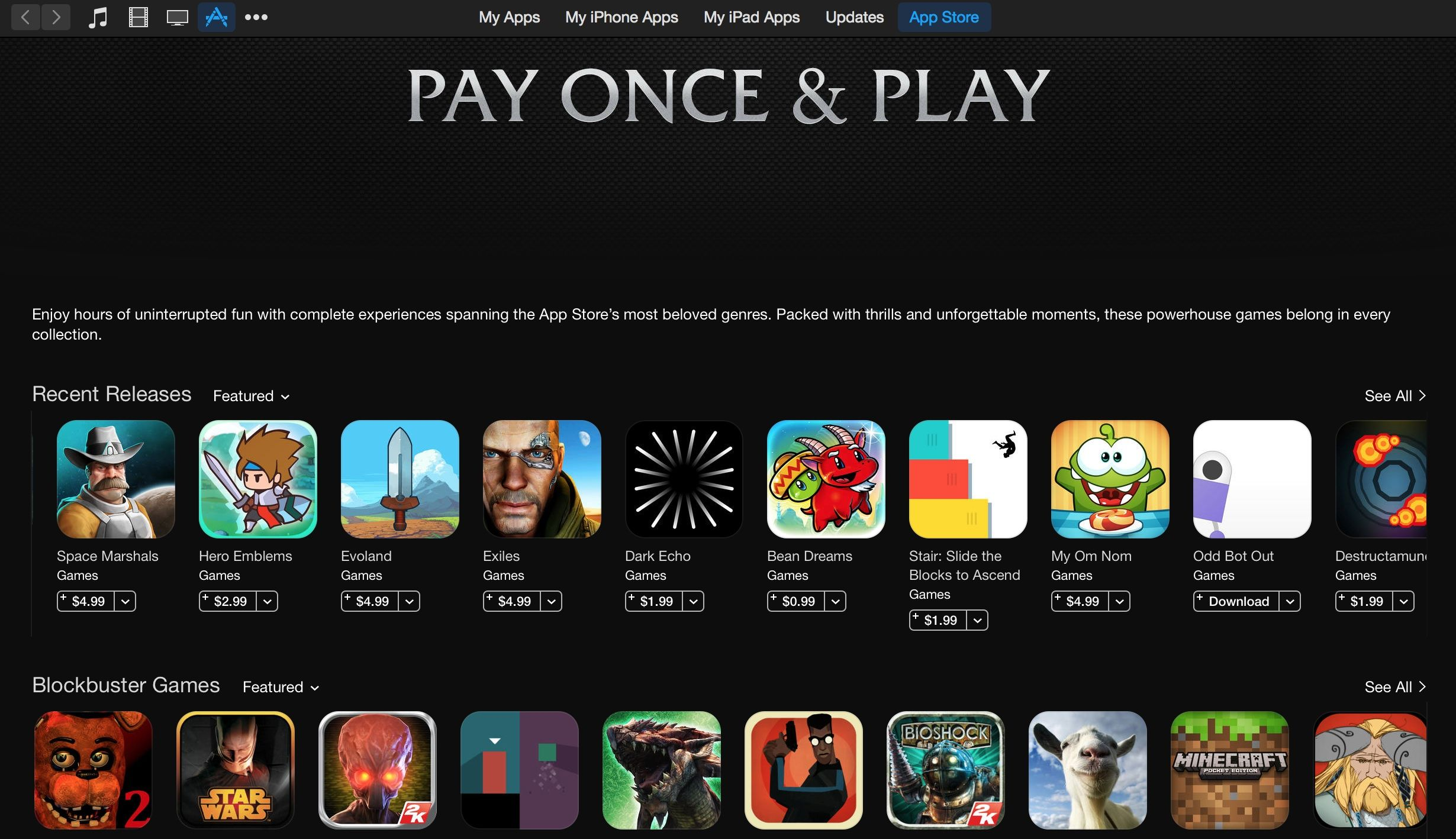 Pay Once and Play: The best games with no in-app purchases