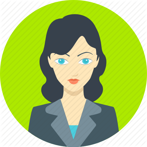 Employee Businesswoman Female Office Woman Worker Girl Icon Download On Iconfinder Business Women Girl Icons Icon