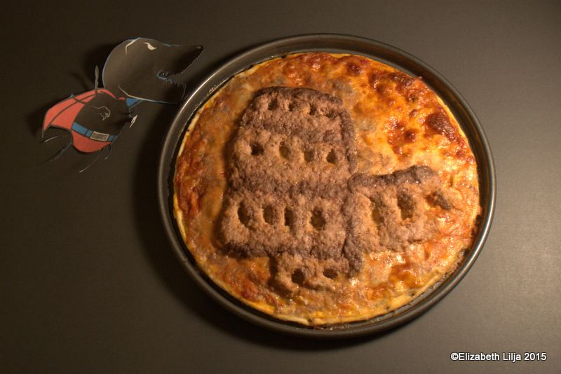 168. IMAGE. Present an artistic depiction of a famous Italian landmark - on a pizza. 31 POINTS