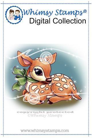 Fawn - Digital Stamp