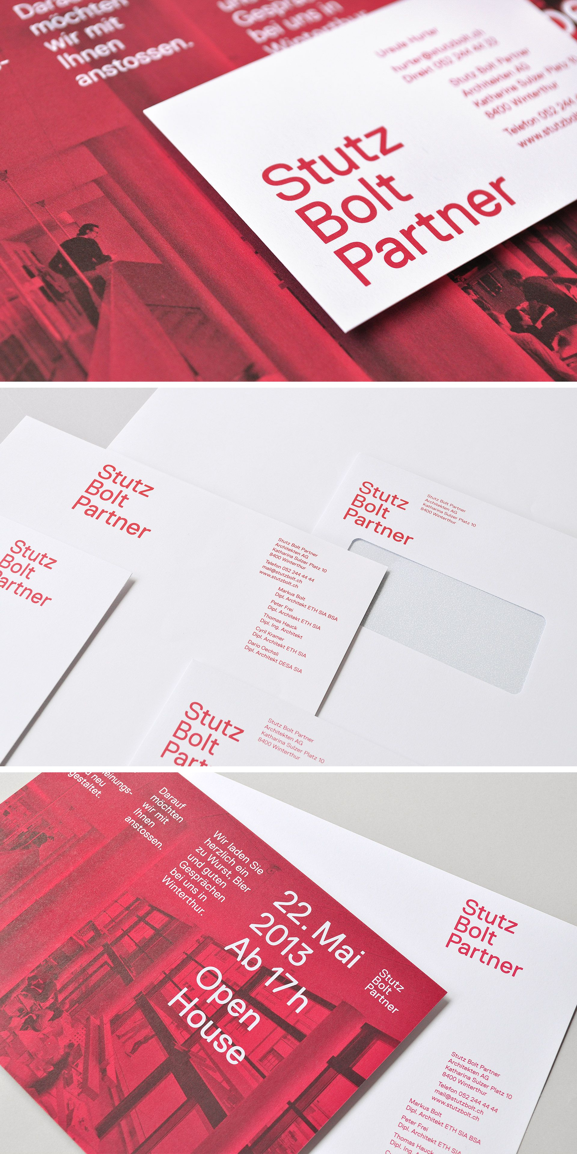 Corporate design for swiss architects stutz bolt partner identity corporate design for swiss architects stutz bolt partner identity businesscards reheart Choice Image