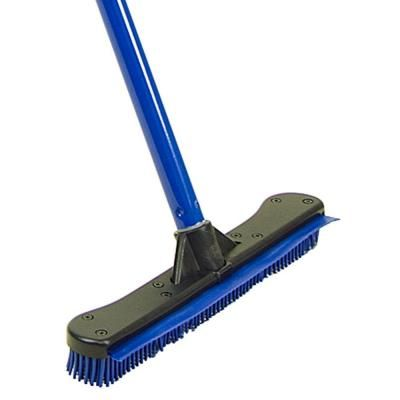 Quickie Complete Sweep Rubber Broom With Squeegee 755 1 The Home