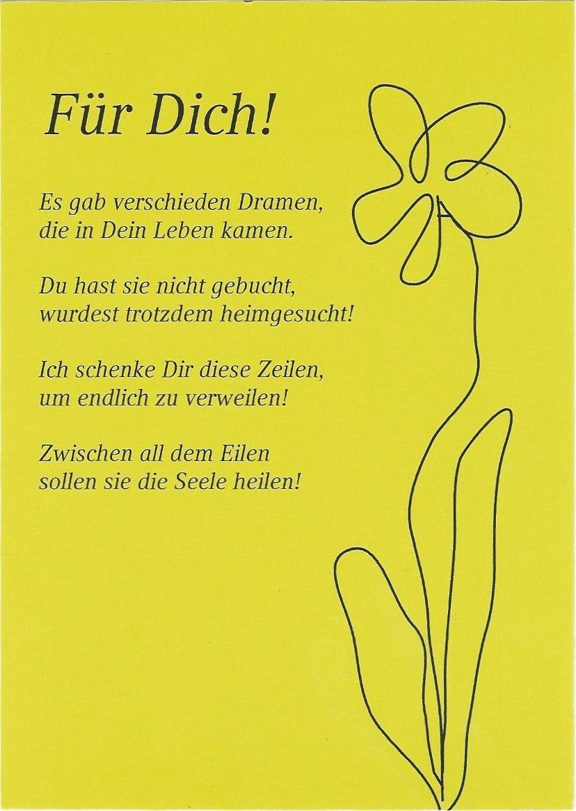 Spruch / Zitat / Gedicht: