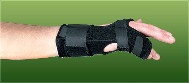 Ulnar Gutter Splint - Right