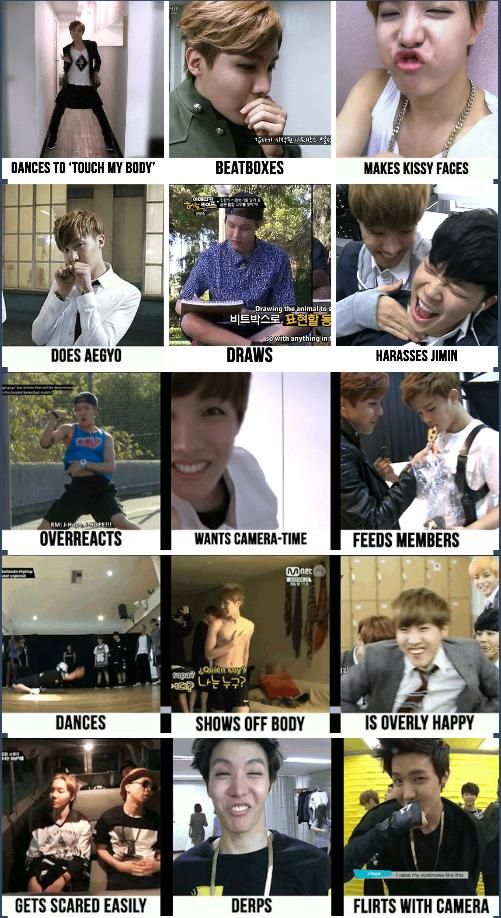 what i love about jung hoseok.