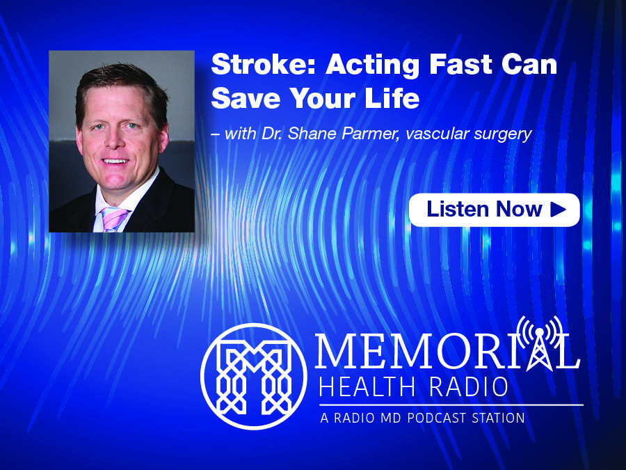 Check out this podcast and other Memorial Health Radio