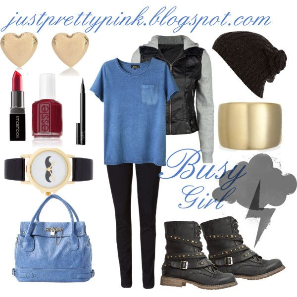 """Busy girl"" by kicsilany on Polyvore"