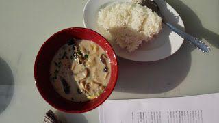 Smart food: Thai Red Curry mit Jasminreis