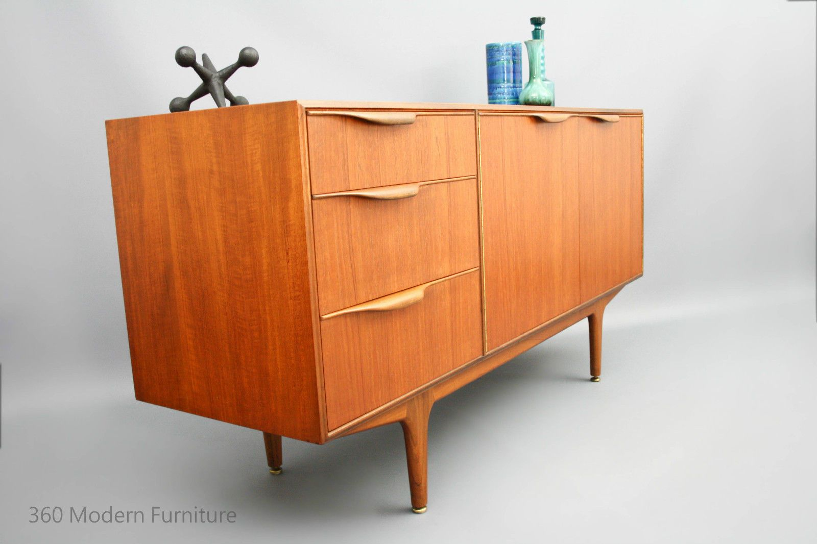 Mid Century Sideboard Buffet Tv Cabinet A H Mcintosh Retro