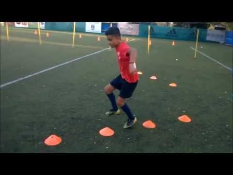 Ejercicios En Circuito Y Coordinacion : Circuito de coordinación ejercicio entrenamiento de fútbol