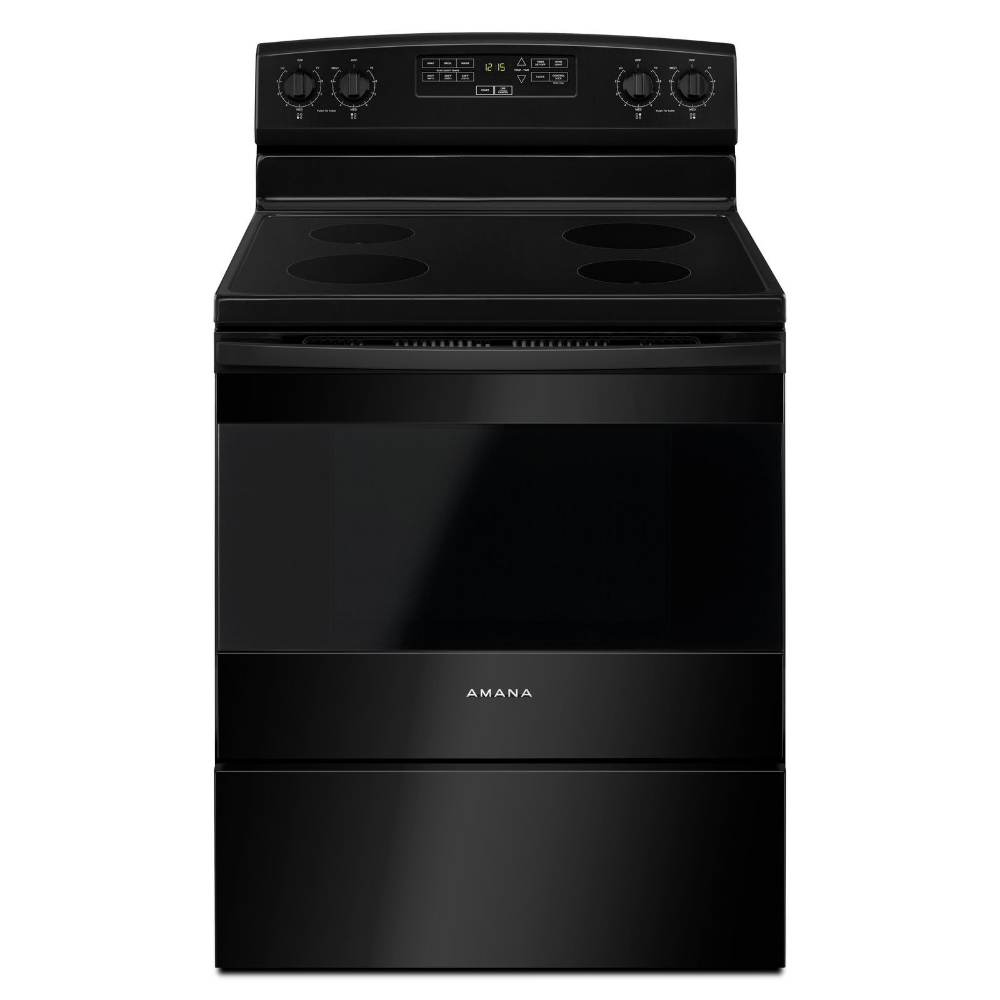 Amana® 30−inch Electric Range With Extra−Large Oven Window