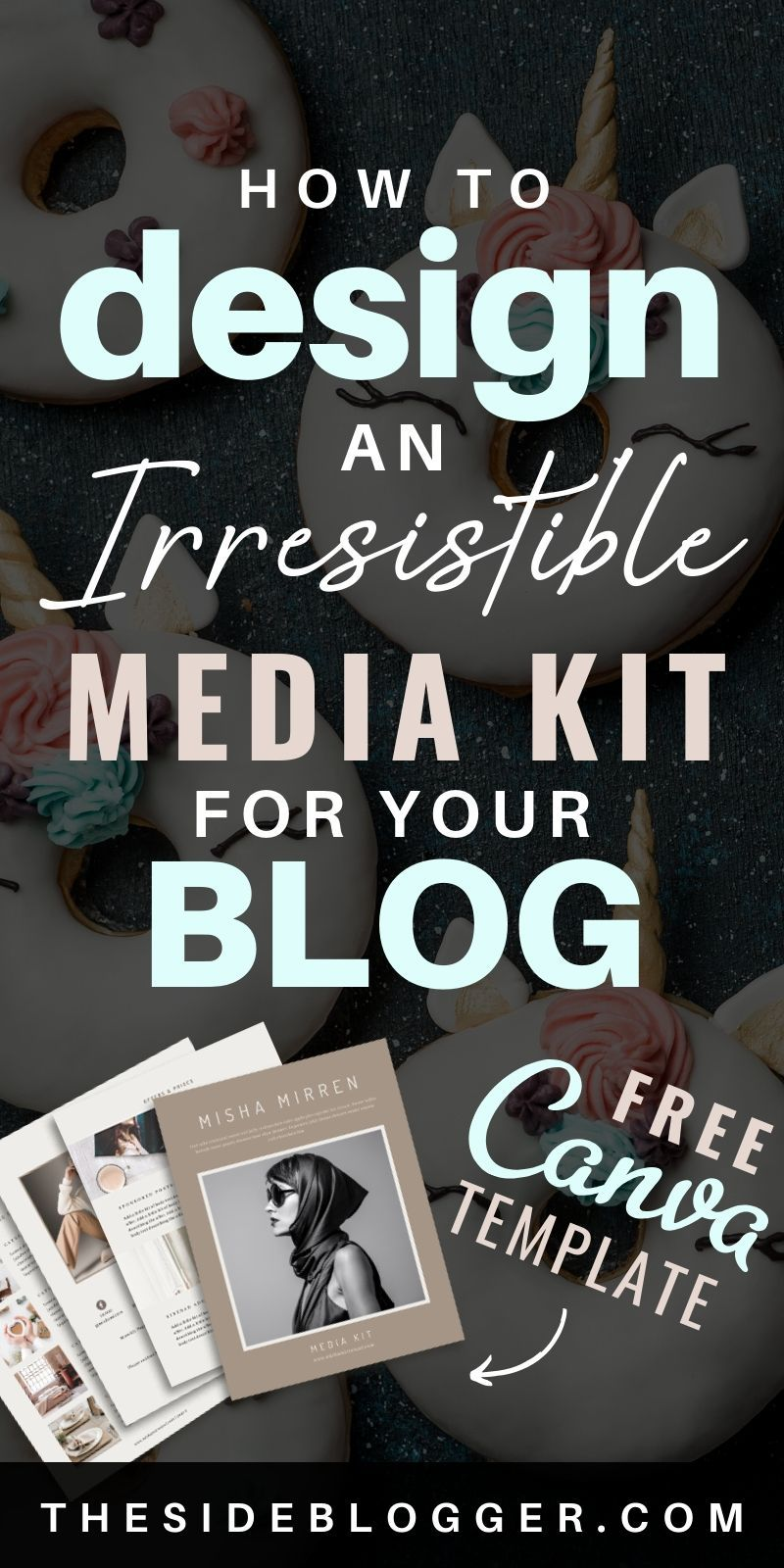 If you're a serious blogger who wants to make money from blogging, there's serious money to be made with sponsored posts. And the first thing you need to secure a sponsored post is a media kit. A well designed media kit will take you far with high-ticket brands and companies that you love and want to partner with. In this post, Ill show you how to design an effective media kit (includes FREE template). #bloggingresources #blogging #makemoneyblogging #mediakit #canvatemplate