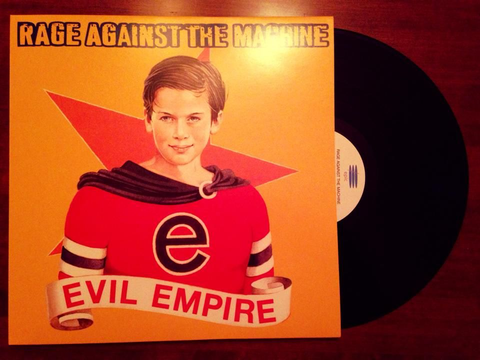 Rage Against The Machine Evil Empire 1994 Evil Empire Rage Against The Machine Rage