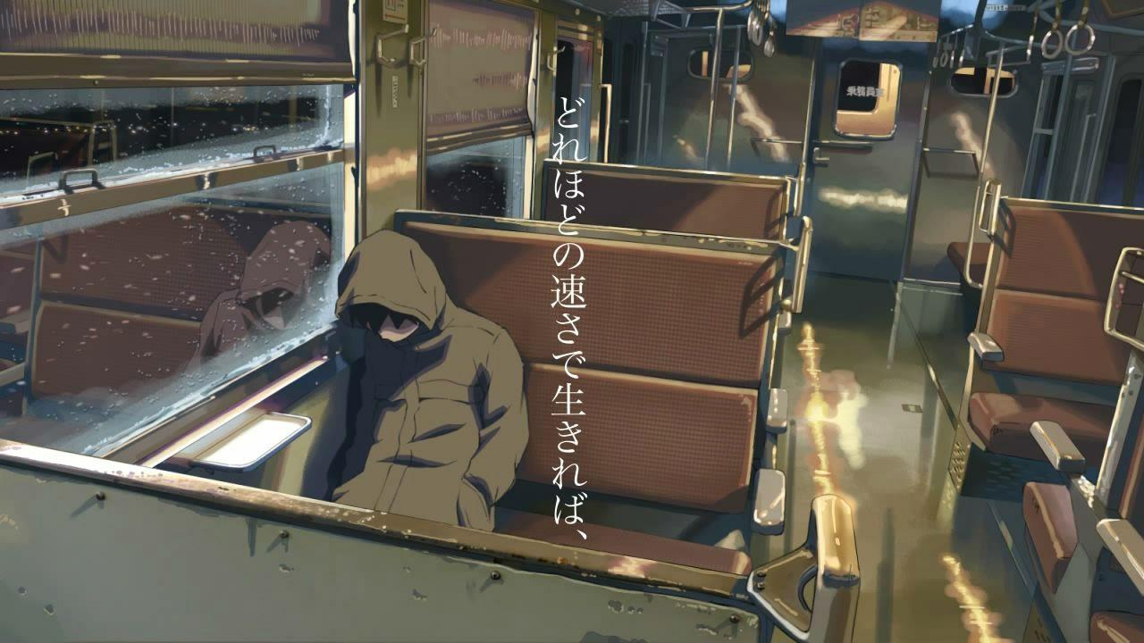 5 Centimeters Per Second Anime scenery, Anime artwork