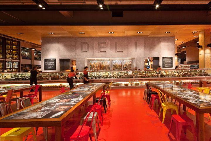 Loblaws food store by Landini Associates, Toronto food