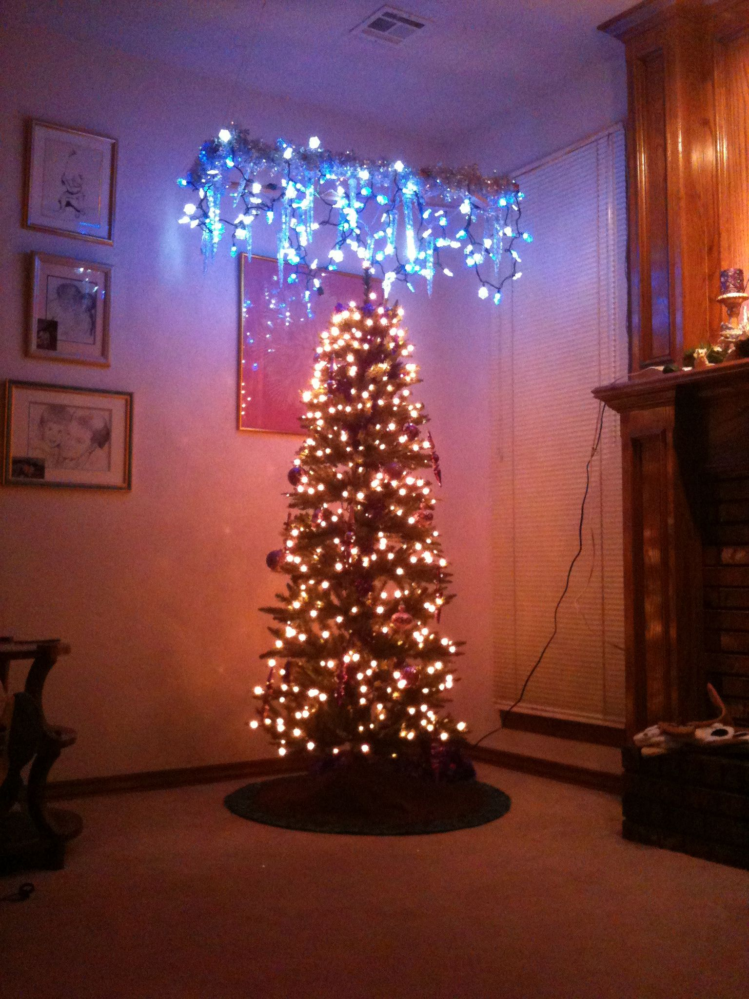 Tree Topper Hanging From Ceiling Holiday Decor Tree Toppers Holiday