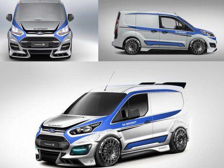 Ford Transit M Sport Ford Tourneo Connect Fahrzeugdesign