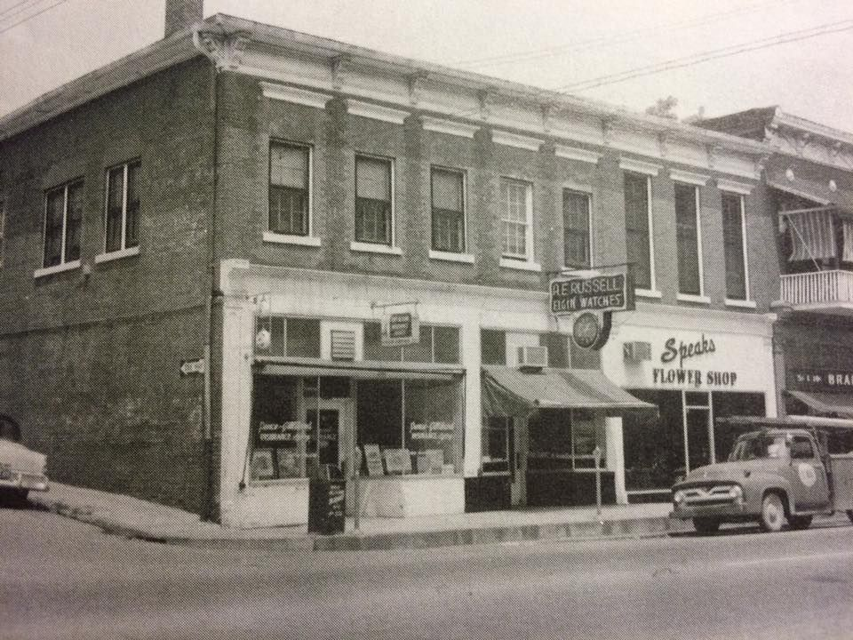 Stanford Kentucky Corner Of Depot St And Main 1950s Pence
