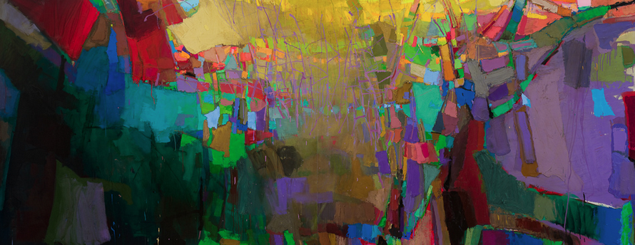 Art in the Abstract ♒ modern painting Brian Rutenberg