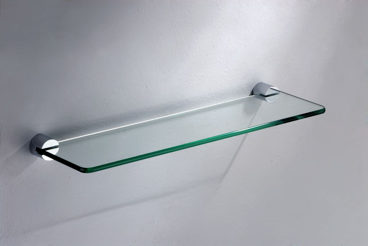 Idea For Glass Shelf Brackets | Glass Shelf Brackets | Pinterest ...