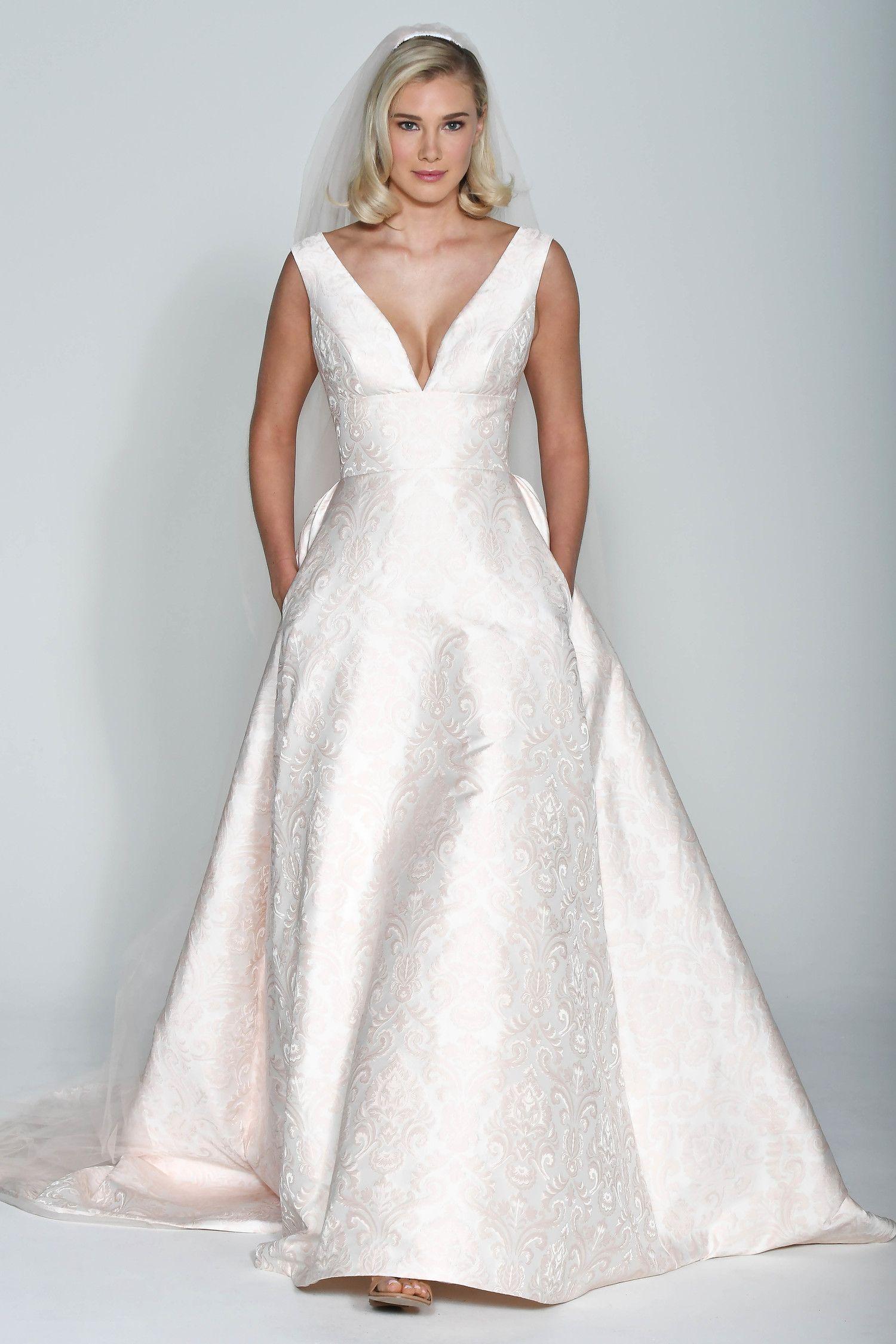 Satin Wedding Dress Fall 2018