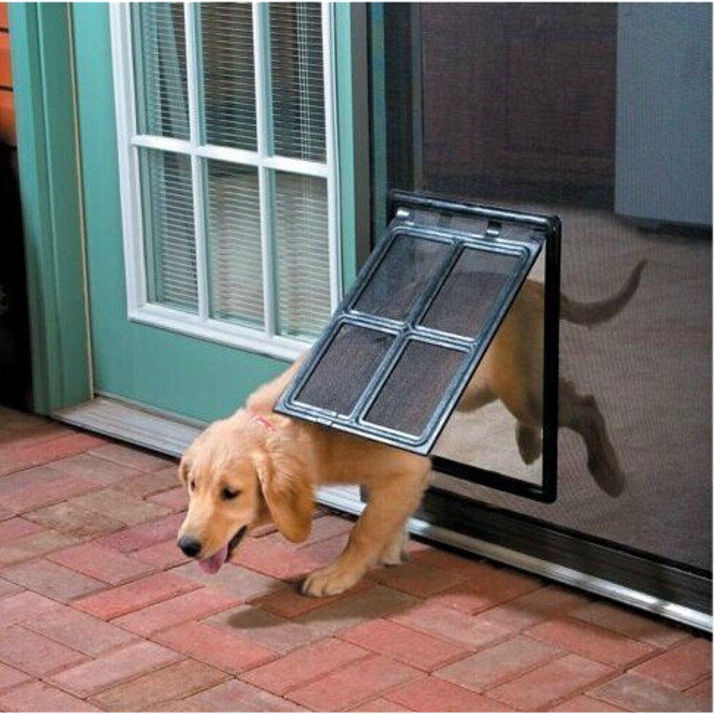 Namsan Magnetic Automatic Locklockable Pet Screen Door Dog Gate Way