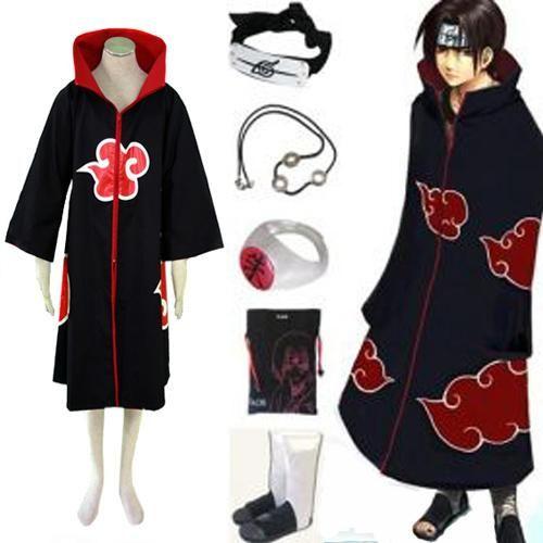 Anime Naruto Akatsuki Headband Itachi Uchiha Deluxe Cosplay Costume Accessory