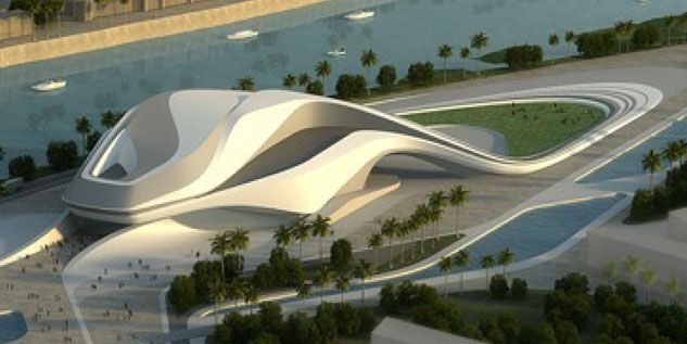 Le grand th tre du rabat par l 39 architecte zaha hadid for Architecture marocaine