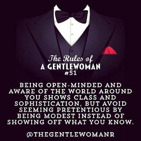 http://www.pictaram.com/tag/GentlewomanRules