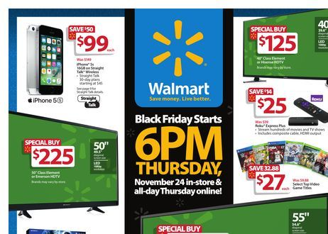 HOW TO GET BLACK FRIDAY DEALS AT WALMART