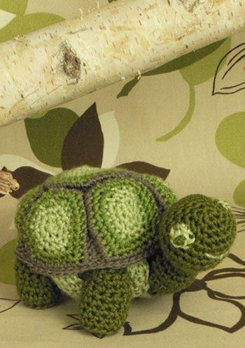 2000 Free Amigurumi Patterns: Turtle Toy | haken | Pinterest | Häkeln
