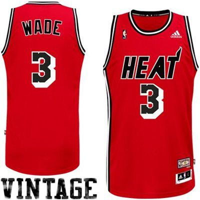 new product f3f3c 93960 dwyane wade throwback heat jersey