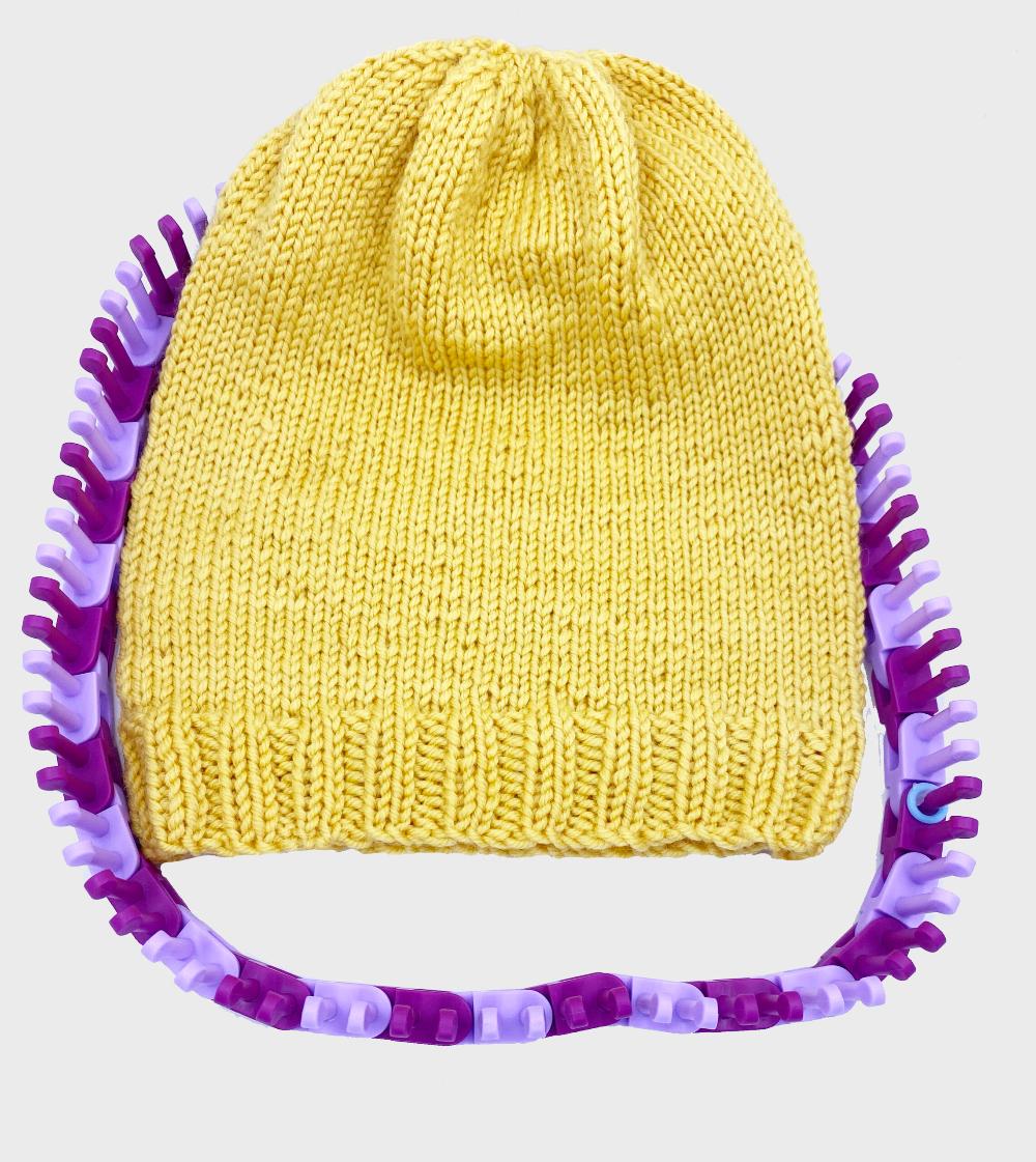 Basic Hat With Crown Decrease Video Flexee Loom Kb Looms Blog Loom Knitting Patterns Loom Hats Loom Knitting Patterns Hat