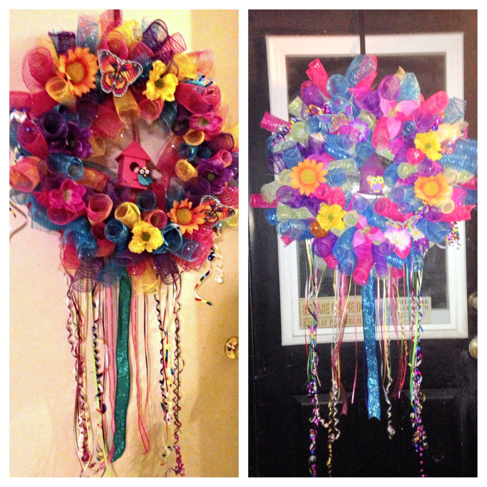 Spring/summer wreaths :)