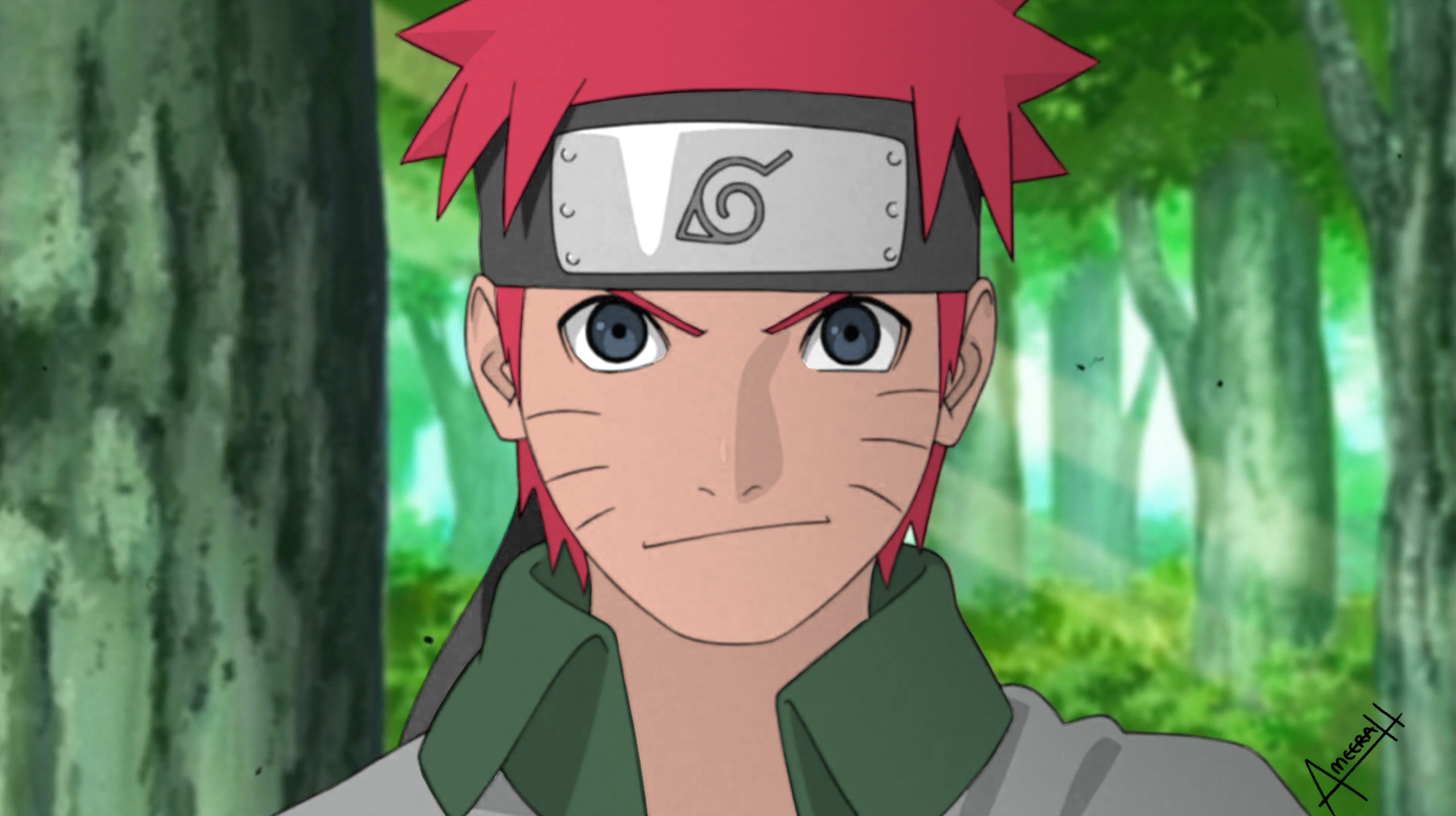 Yeah I did a naruto edit. I dont own this, I just made him