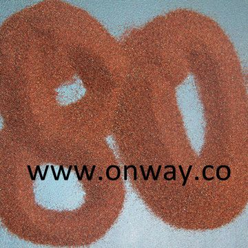 Garnet sand is the natural mineral abrasive, it is the best for waterjet cutting in terms of cost, cutting speed and health hazards. Garnet sand 60# 80# 100# 120# usually be used for waterjet cutting.