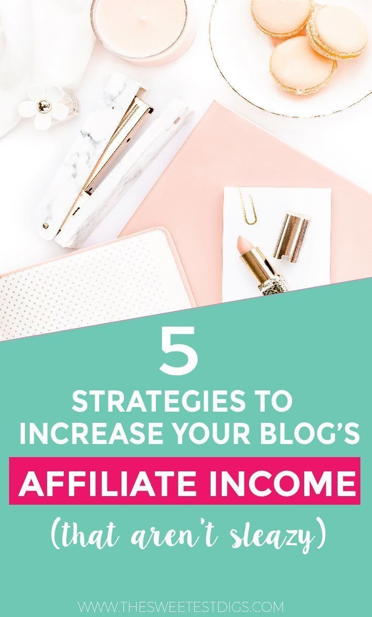 Want to start making more money with affiliate marketing? Here are 5 tried and true strategies to boost your affiliate income that you can implement TODAY. They work for any blogger in any niche, and don't rely on sleazy tactics! I quadrupled my affiliate income once I put these affiliate tips in place. Click through to read the whole post!