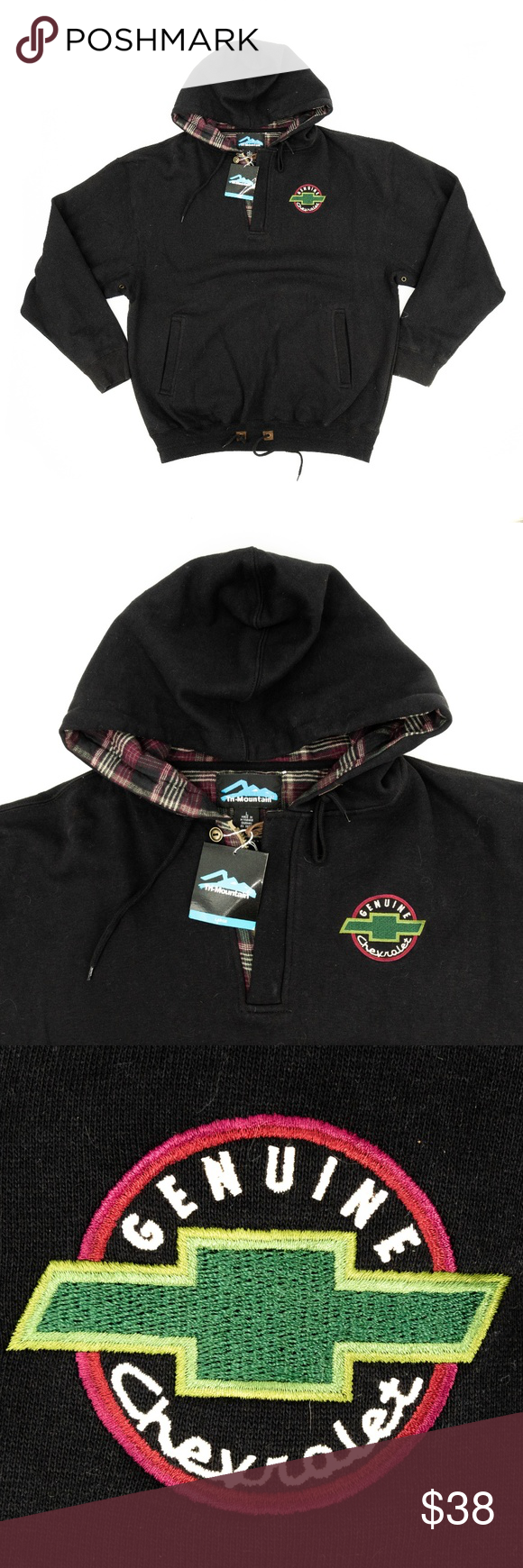 Tri Mountain Hooded Sweatshirt Chevrolet Chevy L Item Tri Mountain Men S Hooded Sweatshirt Genuine Chevro Hooded Sweatshirts Hooded Sweatshirt Men Sweatshirts [ 1740 x 580 Pixel ]