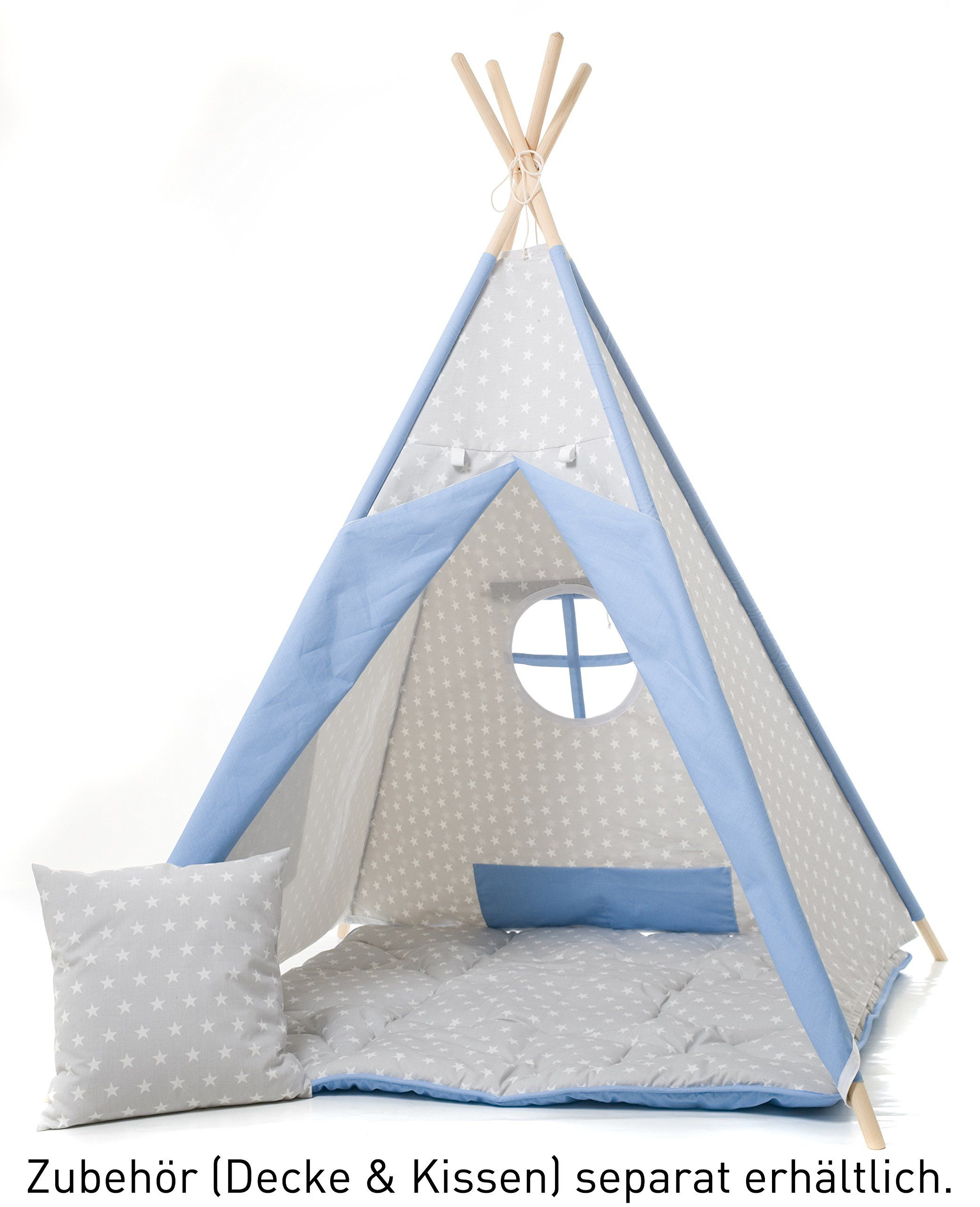 Tente Chambre Garcon dedans my-teepee, tente tipi pour garçons ou filles de 2 à 8 ans, piquets