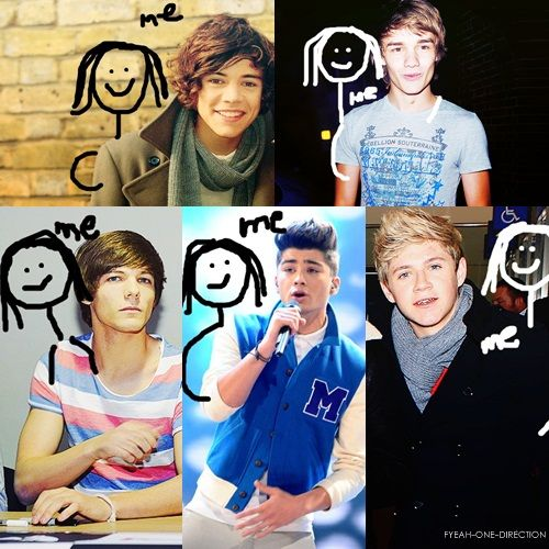 Yes. One Direction and ME. No big deal...