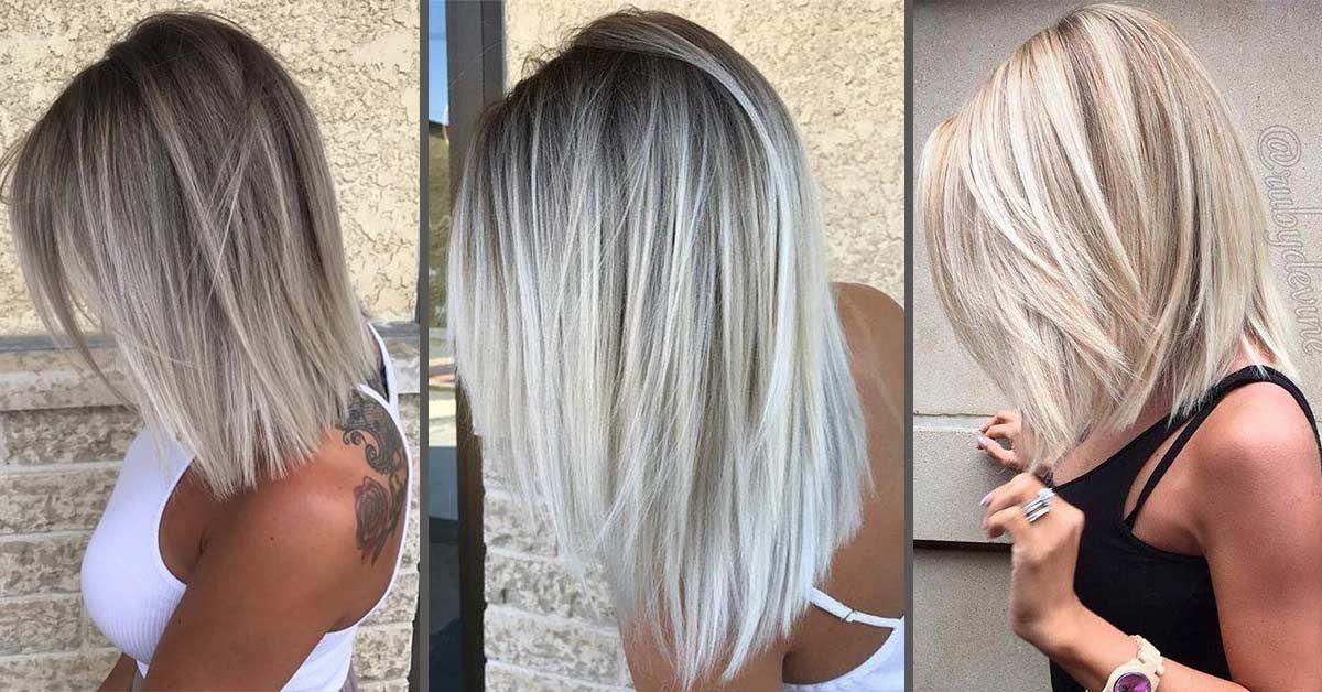 37 Magnifiques Coupes et Couleurs Pour Cheveux Mi-longs - Tendance 2019 en 2019 | Coiffure ...
