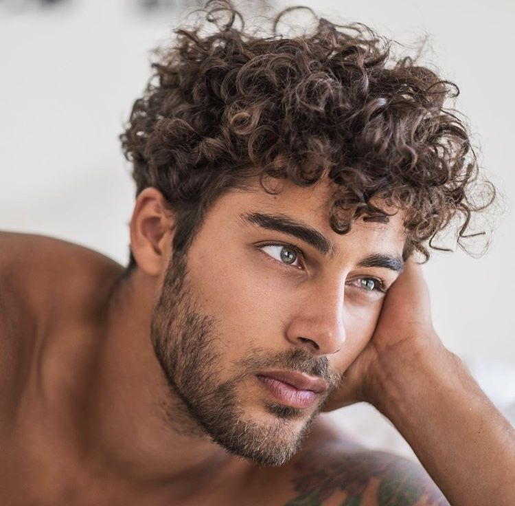 Pin By Okaysu On Book Inspo In 2020 Curly Hair Men Permed Hairstyles Haircuts For Curly Hair