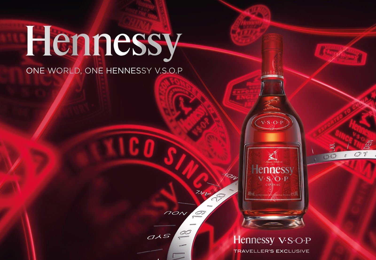 Hennessy V S O P Traveler S Exclusive Hennessy Wine Design Bottle Design