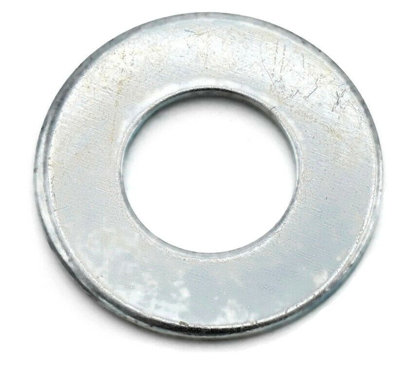 Details About Flat Washers Zinc Plated Steel Sae Inch Standard Washers Sizes 6 1 1 2 Zinc Plating Flat Washer Plating